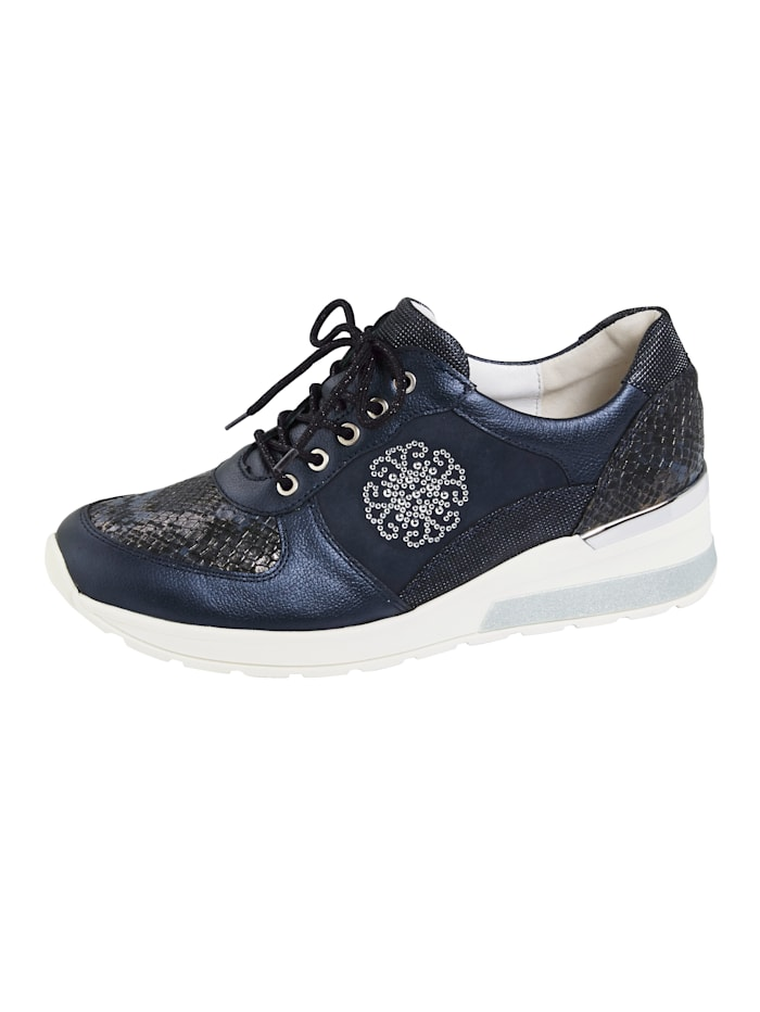 Waldläufer Sneakers, Bleu foncé