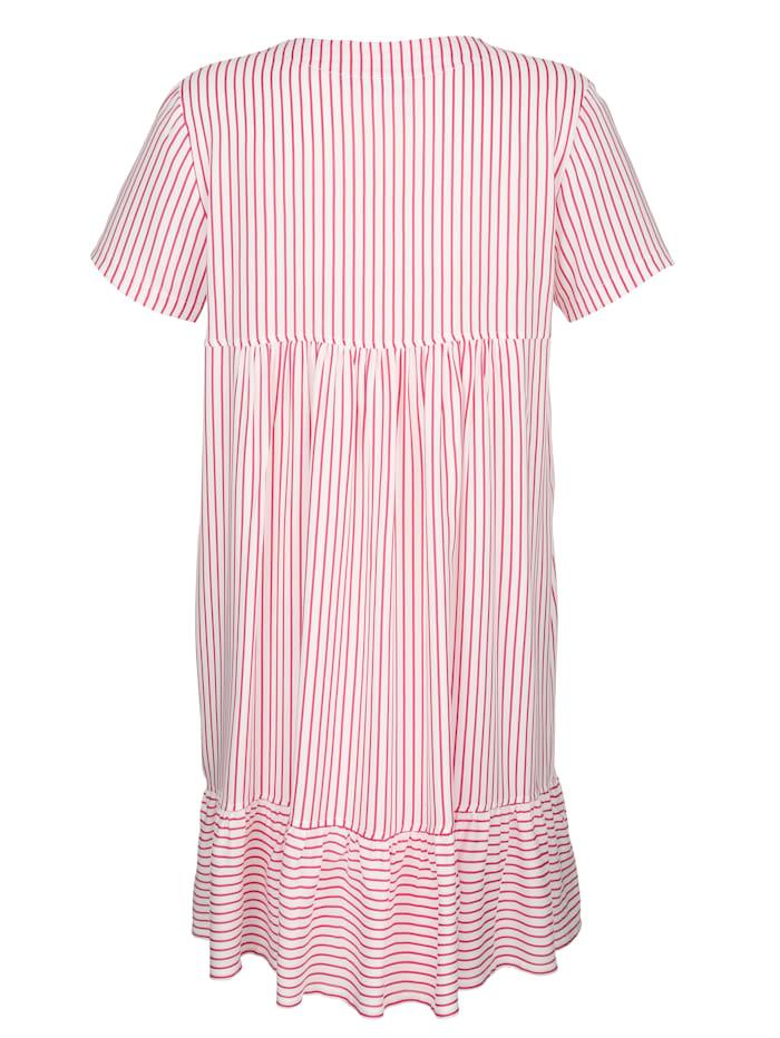 Nachthemd mit süßem Saumvolant