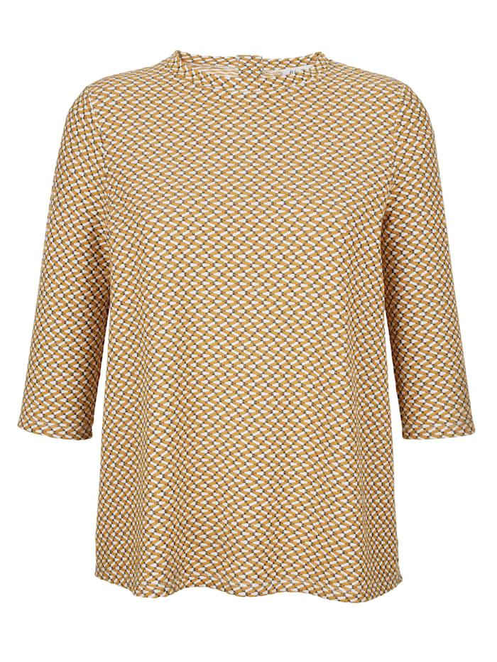 Shirt mit Jaquardstruktur