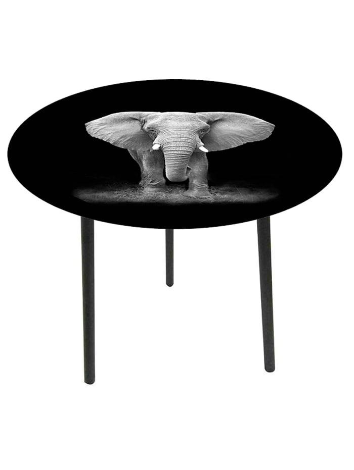 HTI-Line Beistelltisch Elefant, Bunt