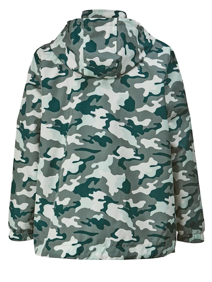 Jas met camouflagepatroon