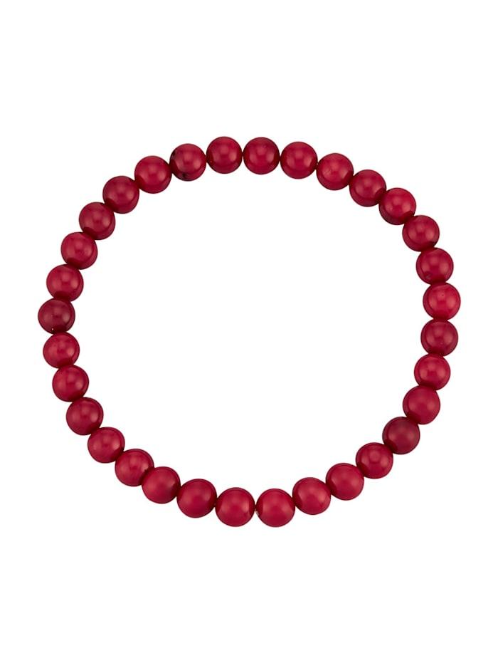 Korallen-Armband, Rot
