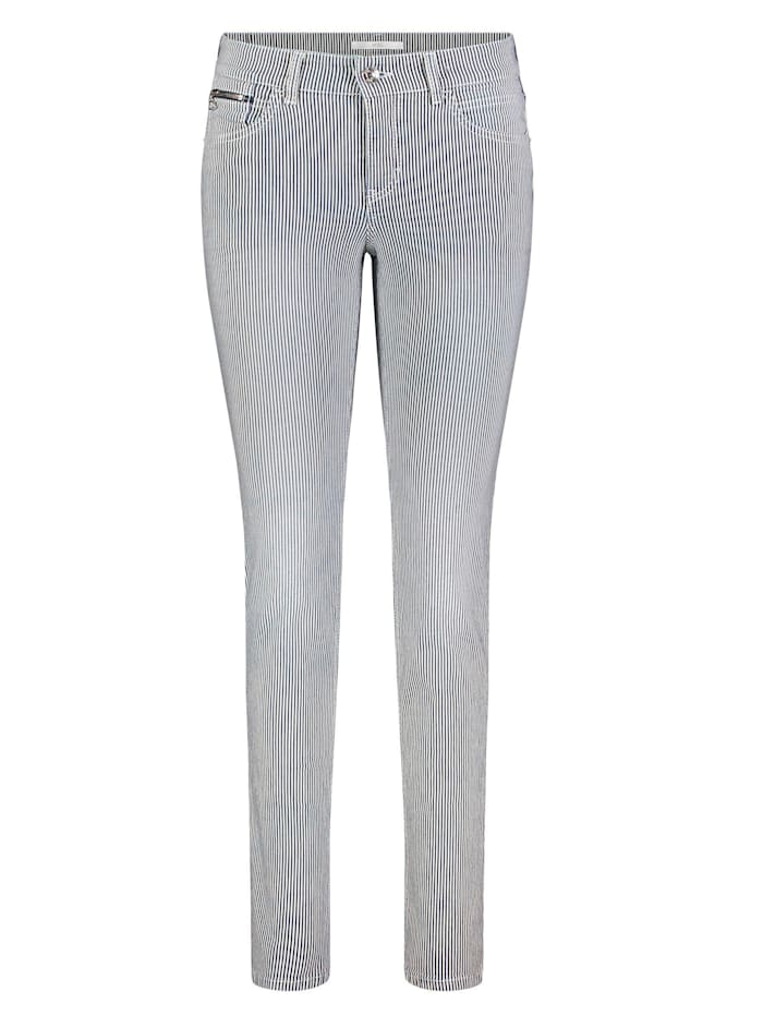 MAC Hose, Weiß/Grau