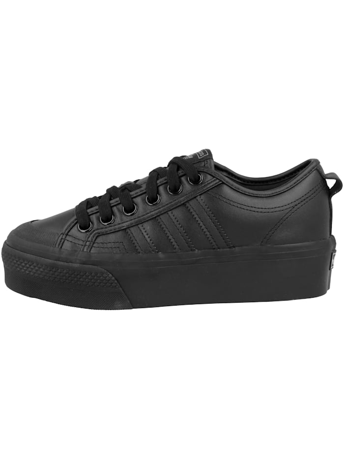 Adidas Originals Sneaker low Nizza Platform, schwarz
