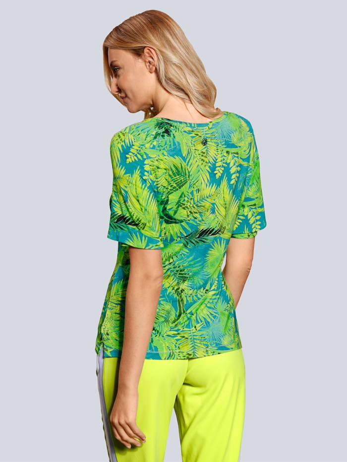 T-Shirt im Palmendruck