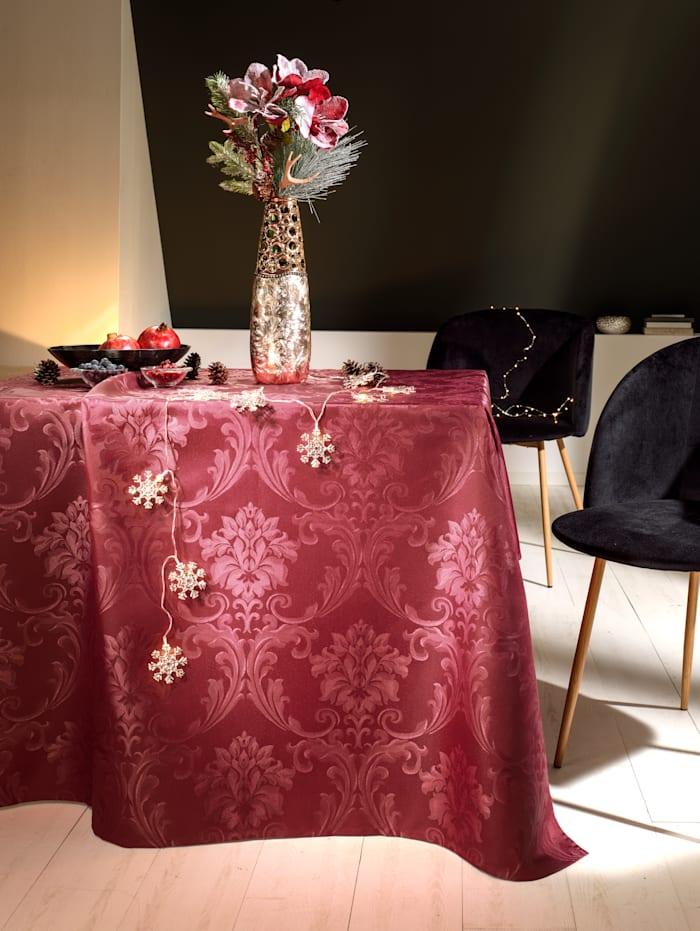 Webschatz Damasttischwäsche 'Jossa', burgund