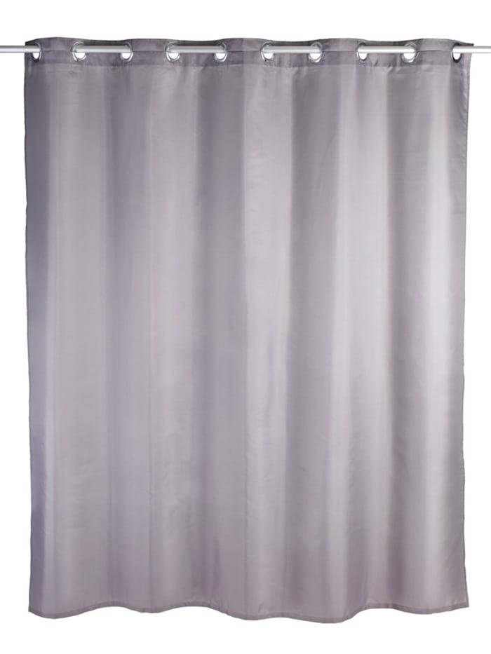 Duschvorhang Comfort Flex Grau, Textil (Polyester), 180 x 200 cm, waschbar