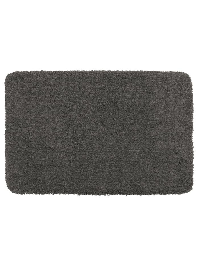 Wenko Badteppich Belize Mouse Grey, 55 x 65 cm, Mikrofaser, Polyester/Mikrofaser: Grau