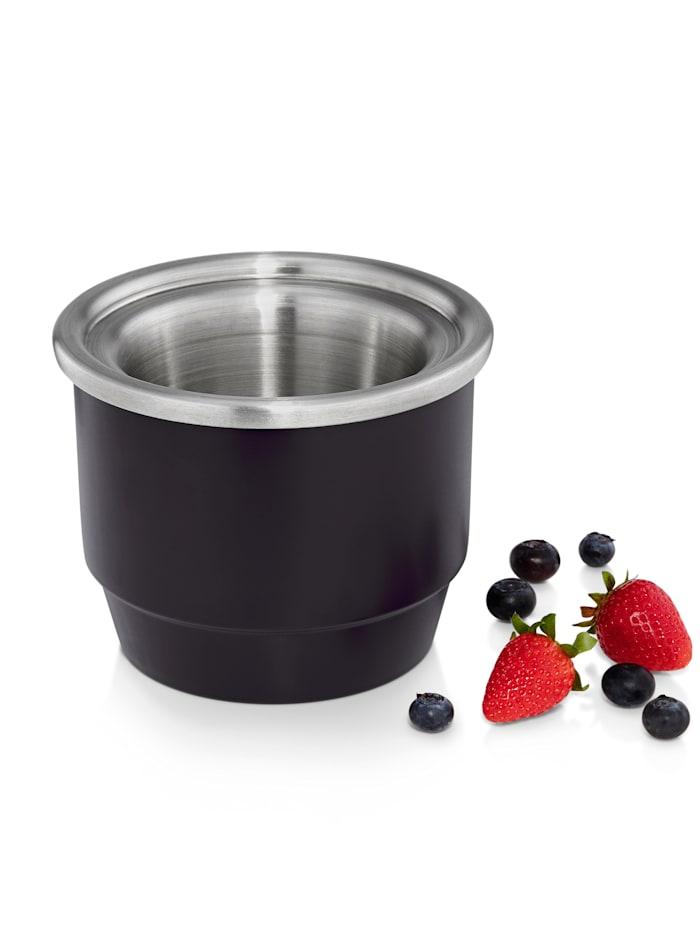 WMF WMF-jäätelökoneen kulho 300 ml, kannellinen, musta