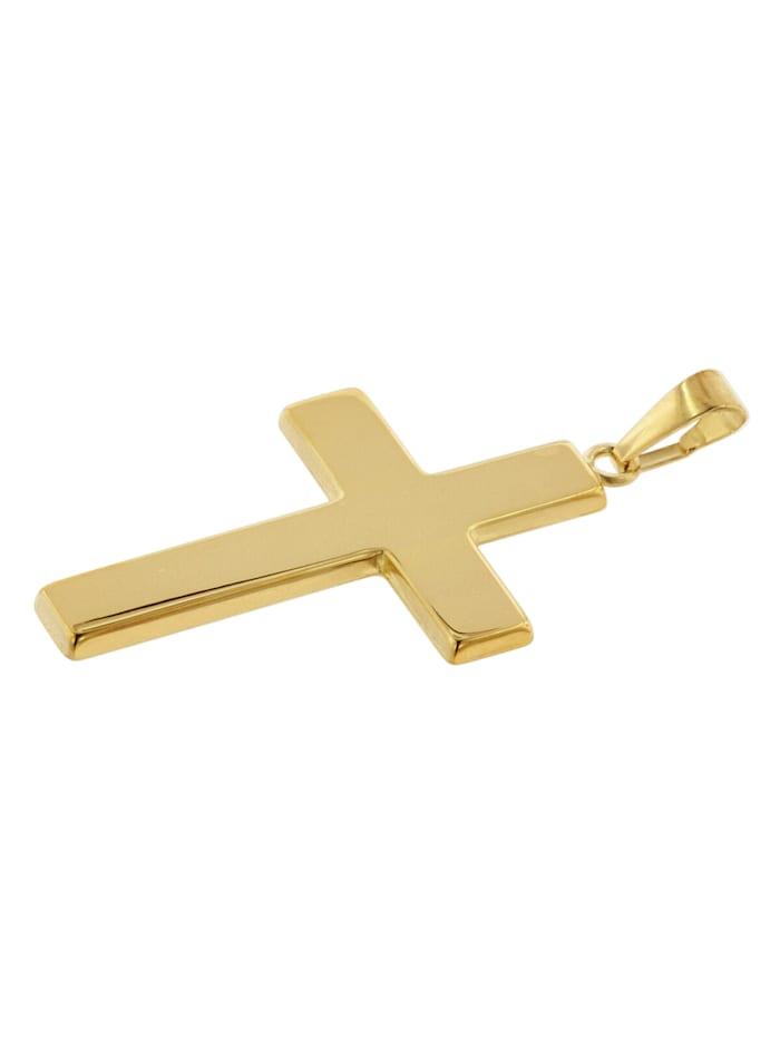 Kreuz-Anhänger Gold 750 (18 Karat) 27 x 19 mm