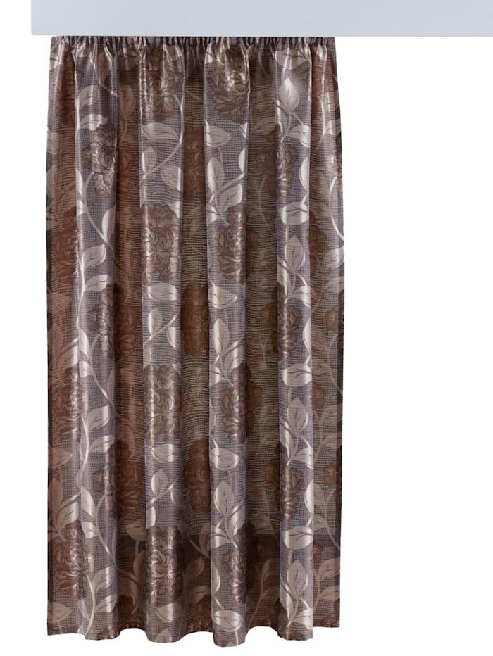 Home Wohnideen Gardin – Monja, brun