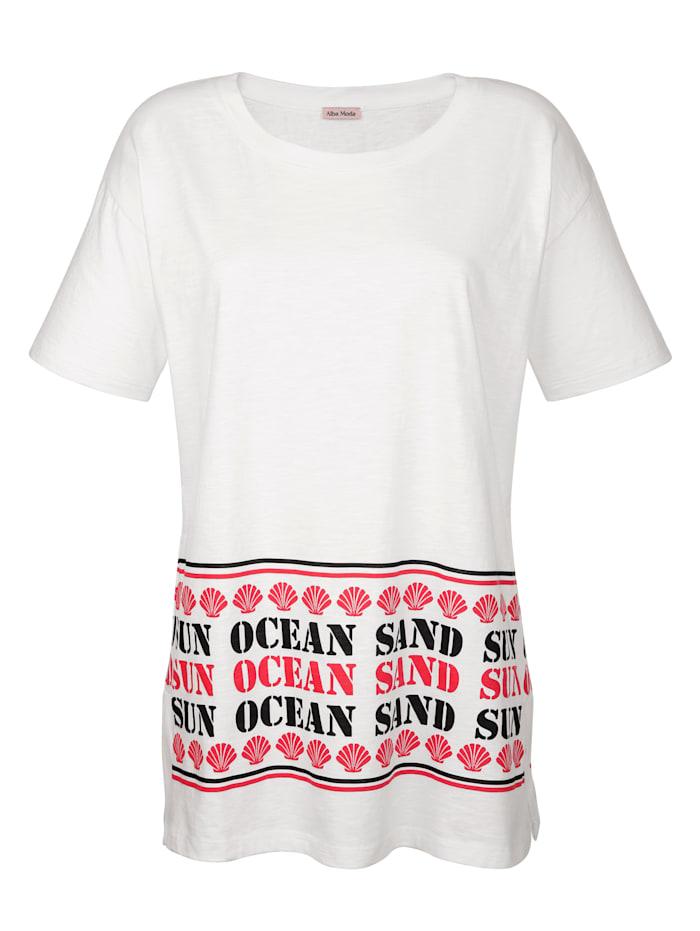 Strandshirt mit Wording-Print