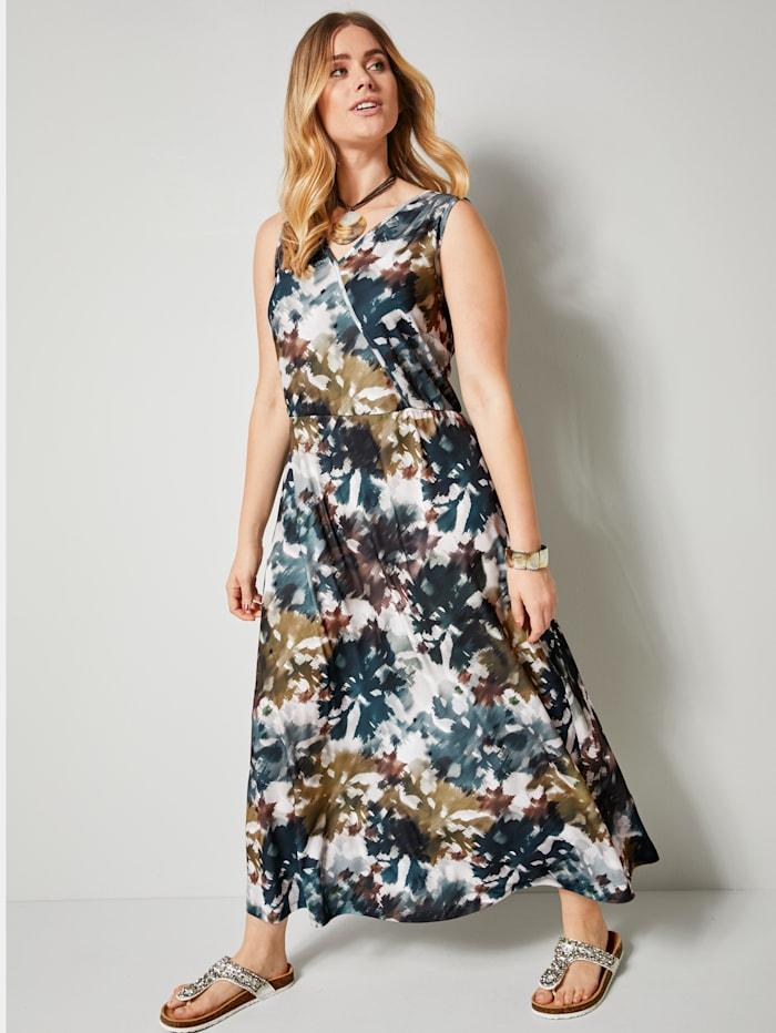 Maxi-jurk met batikprint