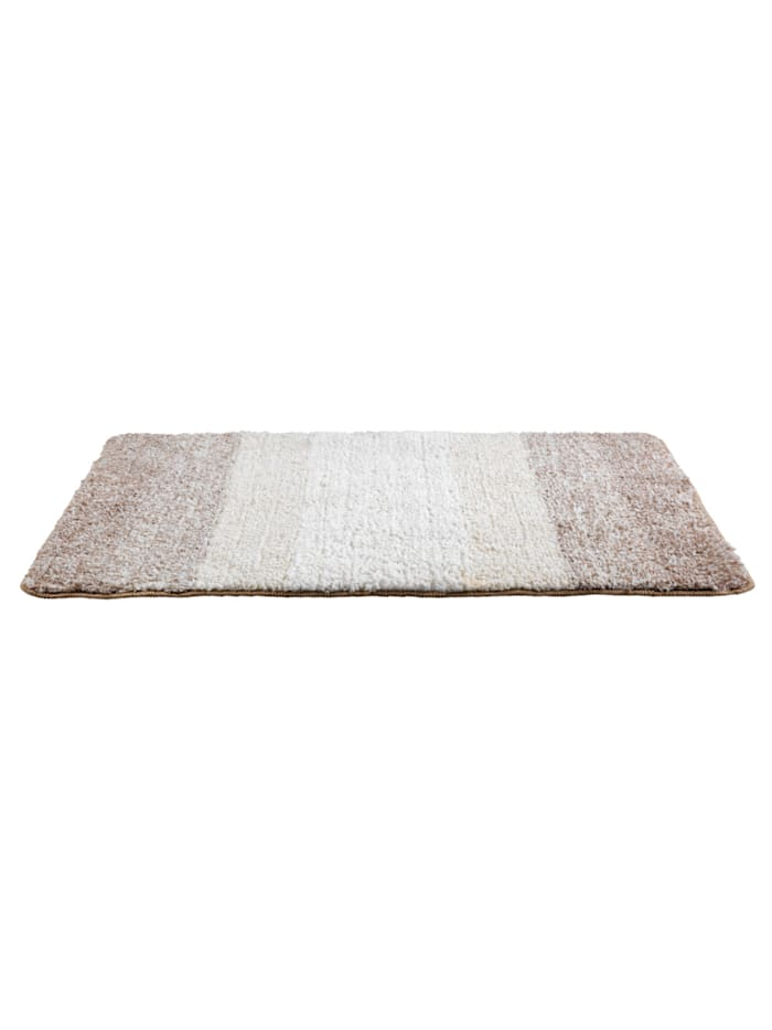 Badteppich Luso Beige, 60 x 90 cm