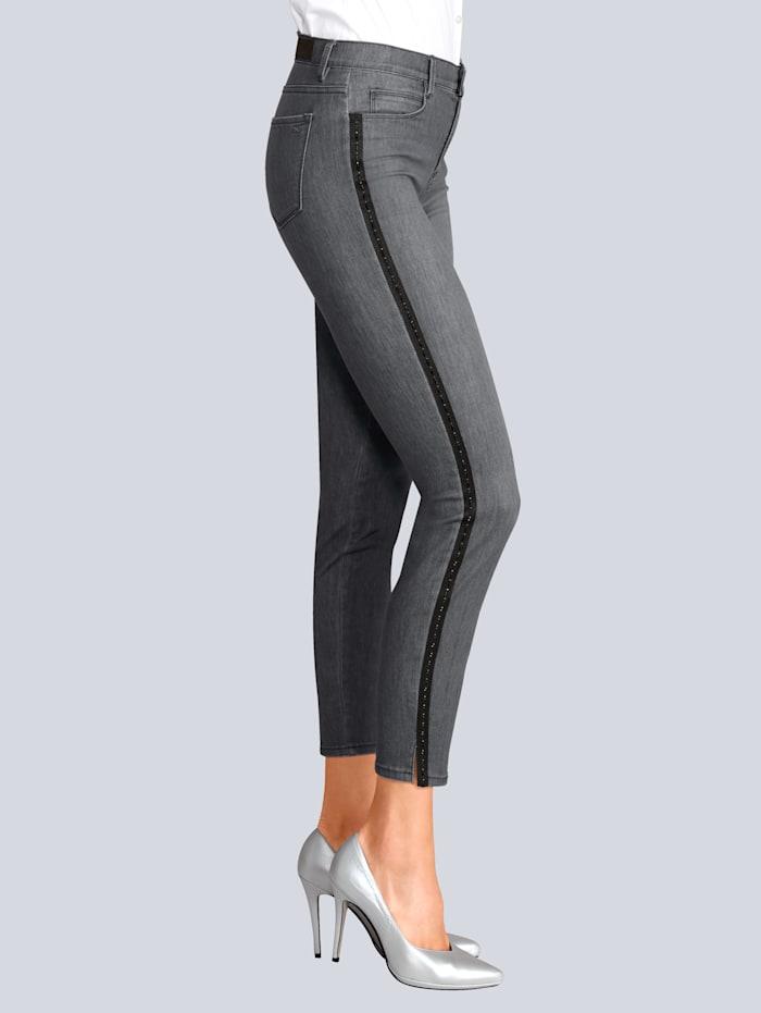 BRAX Jeans im exklusiven Style für Alba Moda, Grau