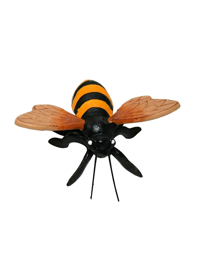 HTI-Line Geschenkset aus Gusseisen Wanddeko Marienkäfer, Biene und Schmetterling, Bunt