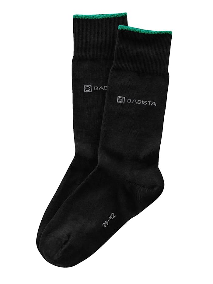 BABISTA Socken mit nachhaltiger Bio Baumwolle, Schwarz