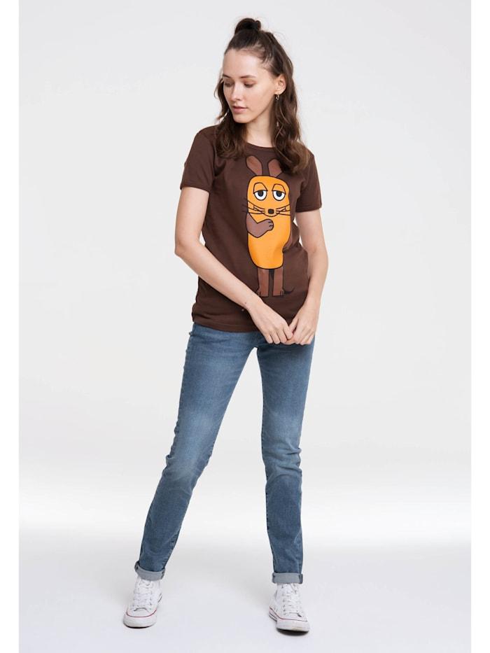 Print T-Shirt Die Sendung mit der Maus mit lizenziertem Design