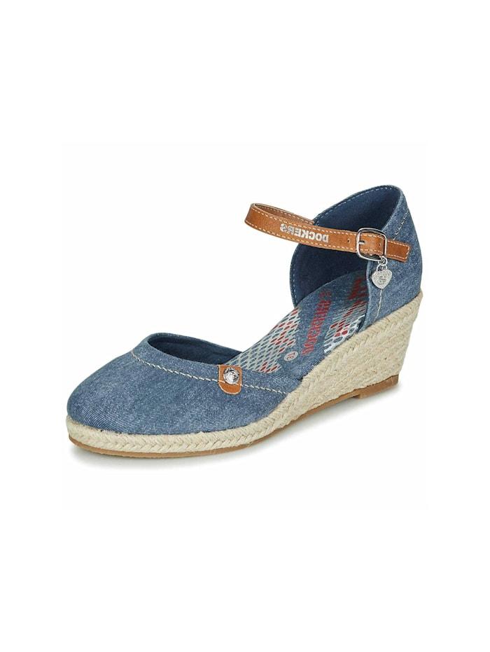 Dockers Sandalen/Sandaletten, blau