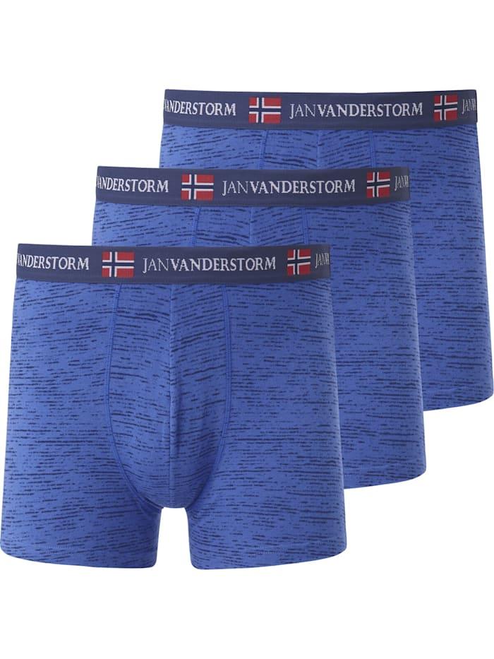Jan Vanderstorm Jan Vanderstorm 3er Pack Retropant NORIK, blau