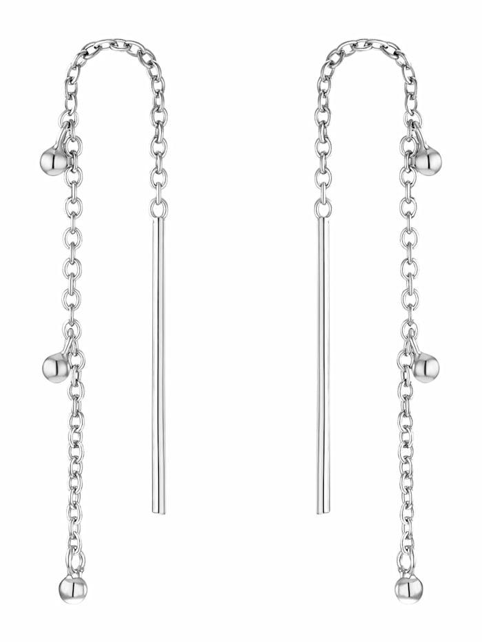 Noelani Ohrhänger für Damen, Sterling Silber 925, Silber