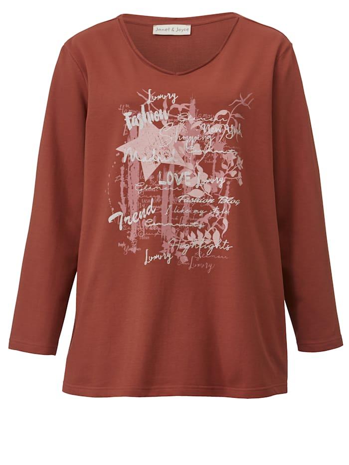 Sweatshirt met grafisch dessin