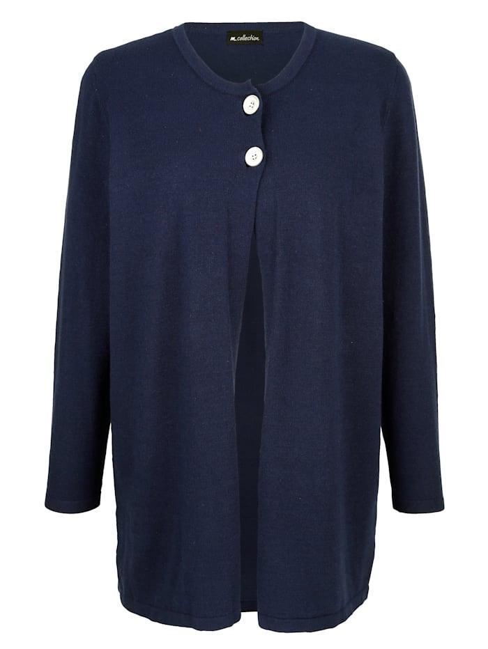 Dlhý sveter s gombíkmi