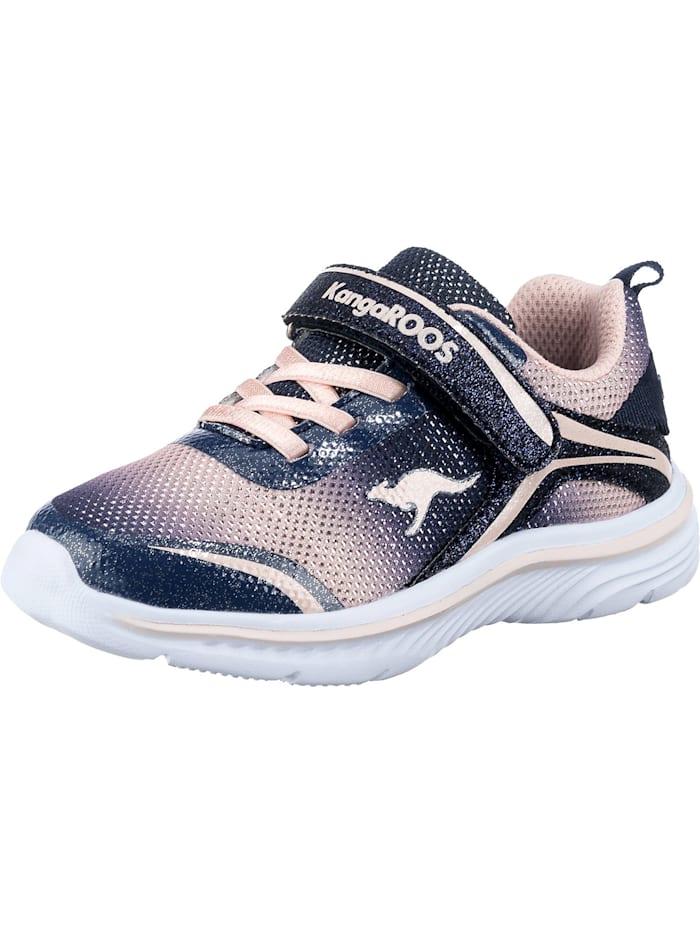 KangaROOS Sneakers Low K MAID GLEAM EV für Mädchen, pink/blau