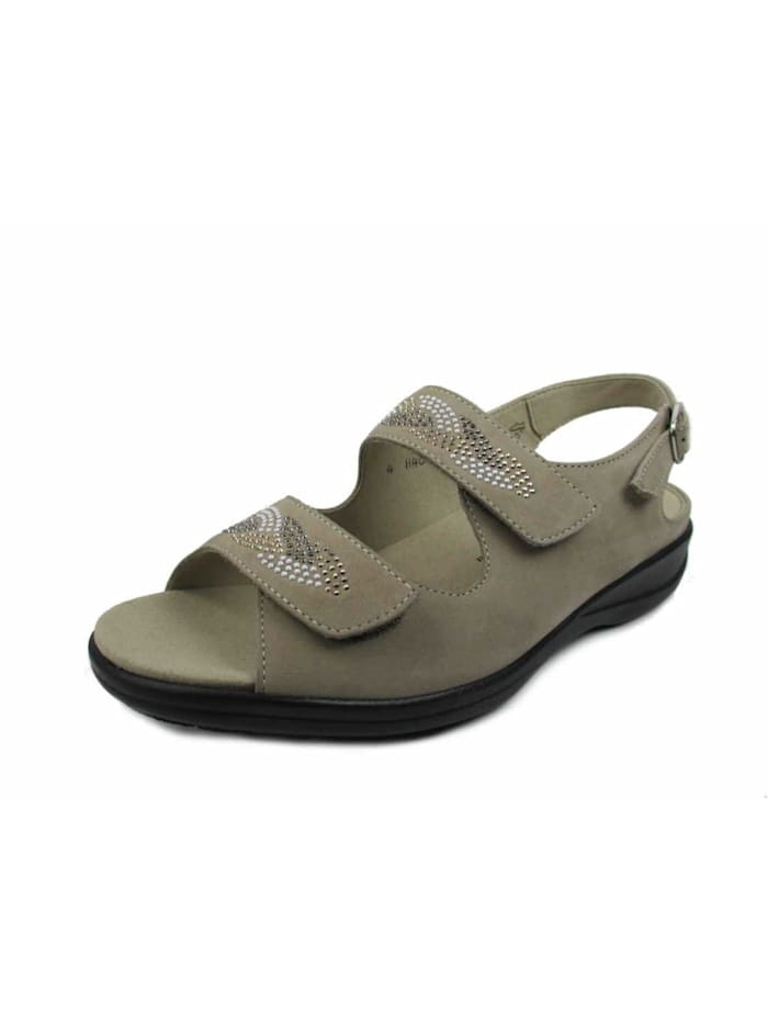 Solidus Sandale, beige