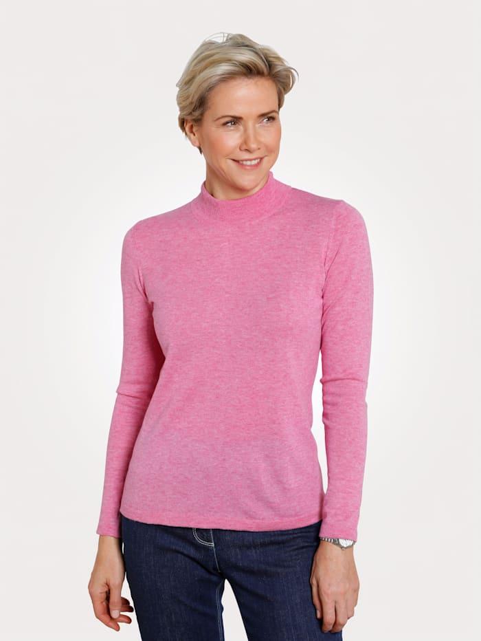 MONA Pullover mit Merino-Wolle, Rosé