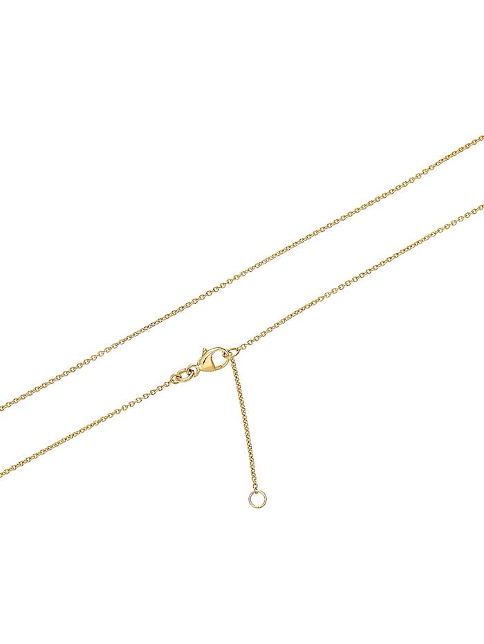 FAVS Damen-Kette 333er Gelbgold 12 Zirkonia