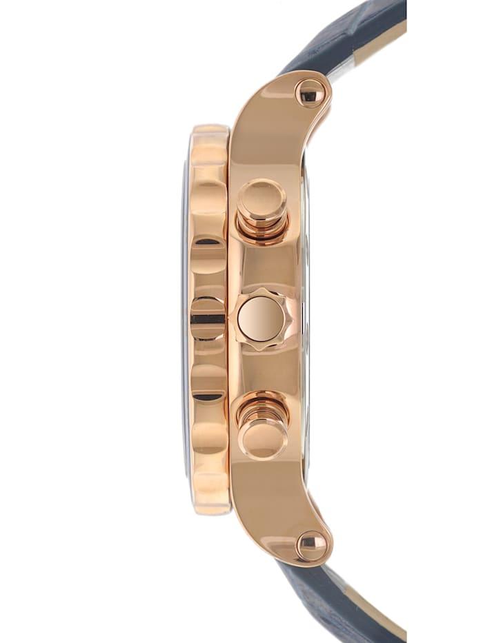 Damen-Chronograph mit 3 Armbändern