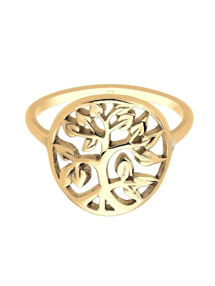 Ring Lebensbaum Floral 925Er Sterling Silber