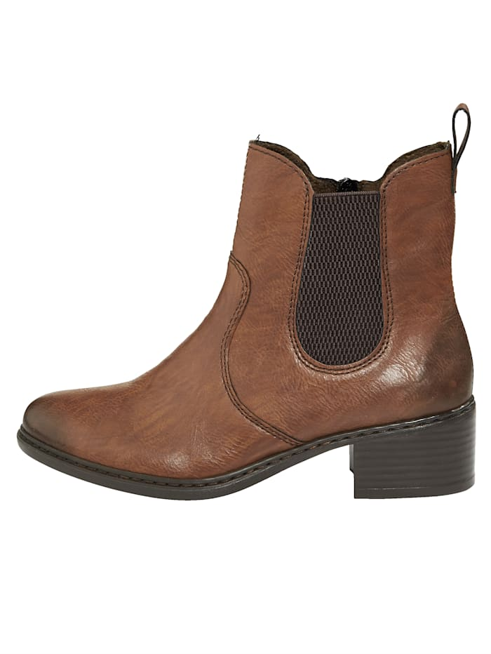 Stiefelette in leichtem Used-Look