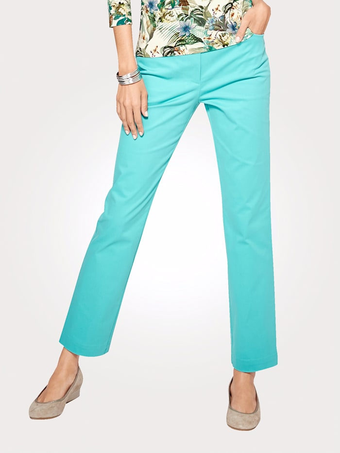 Cotton Sateen Trousers in a versatile cut