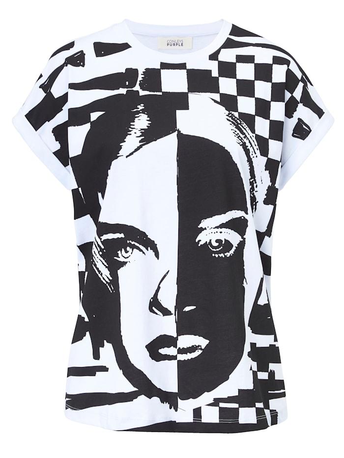 CONLEYS PURPLE T-Shirt, Schwarz