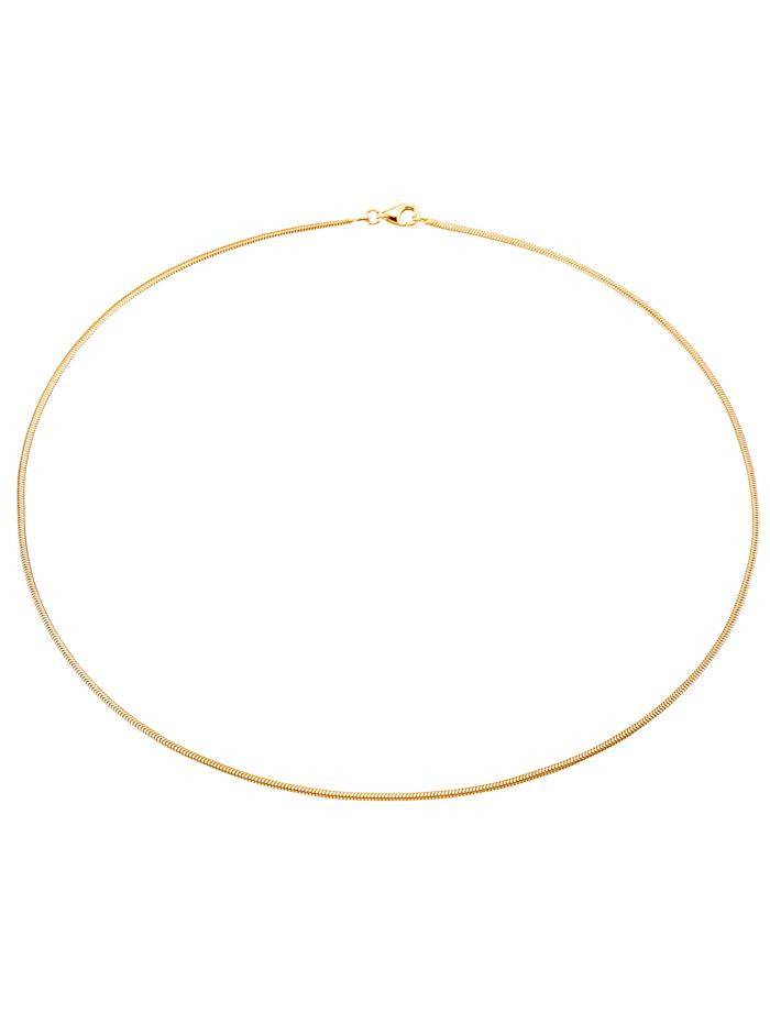 Schlangenkette in Gelbgold