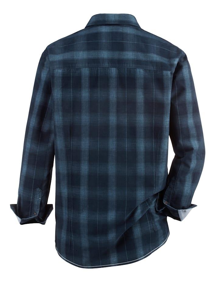 Overhemd met lichte used look