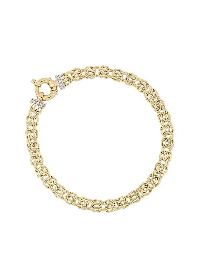 Armband – kejsarlänk med diamanter