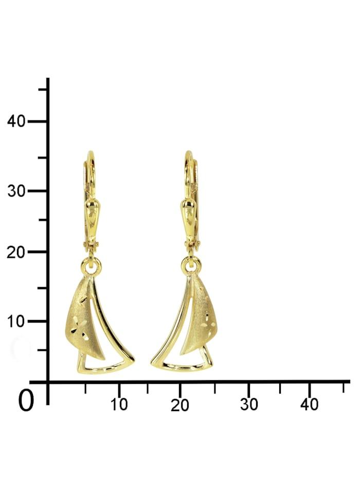 Ohrhänger - Marika - Gold 333/000 - ,