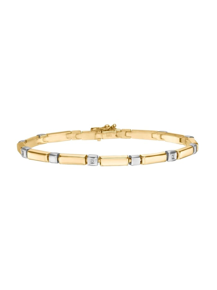 CHRIST Diamonds CHRIST Diamonds Damen-Armband 5 Diamant, gold