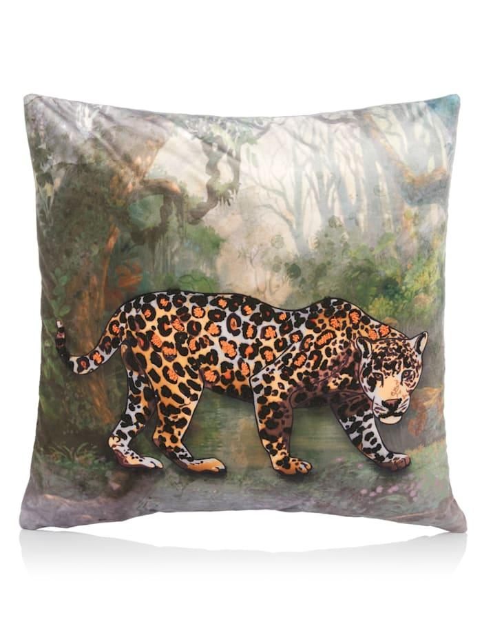 IMPRESSIONEN living Kissenhülle, Leopard, Multicolor