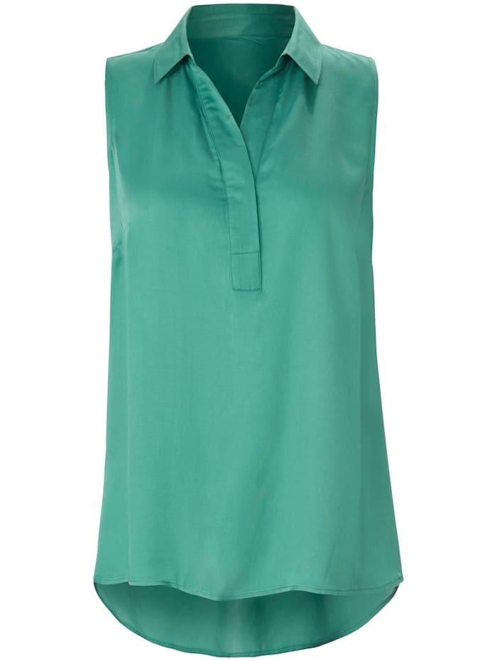 Emilia Lay Blusentop Bluse, grün