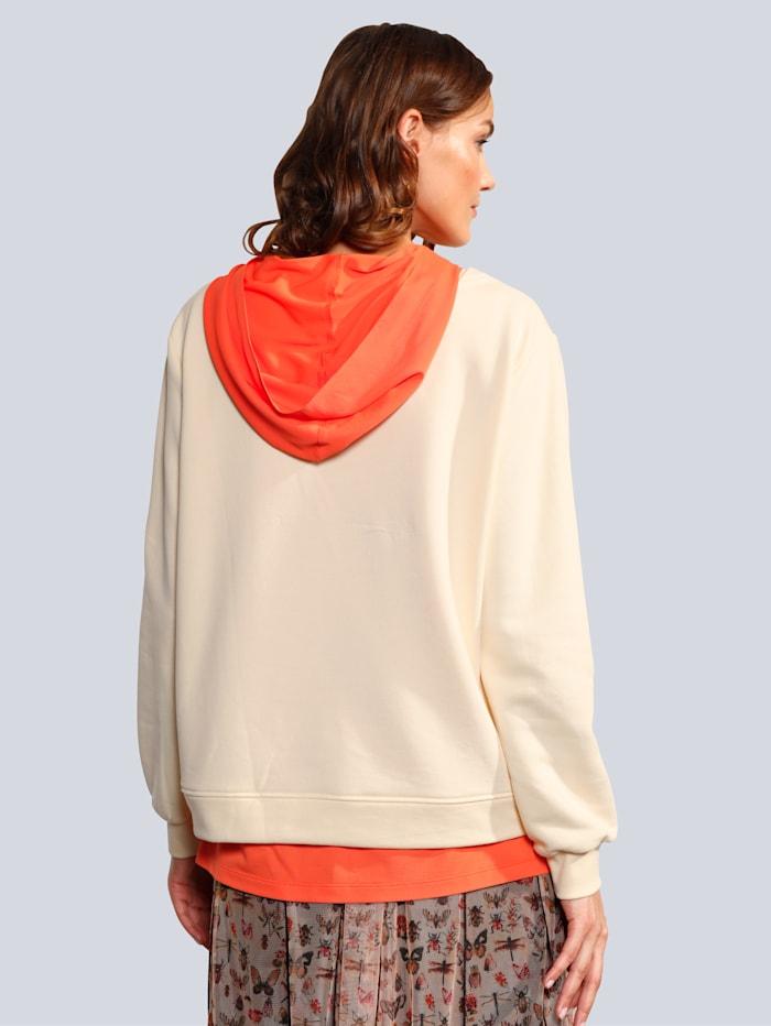 Sweatshirt mit Hotfixsteinchen