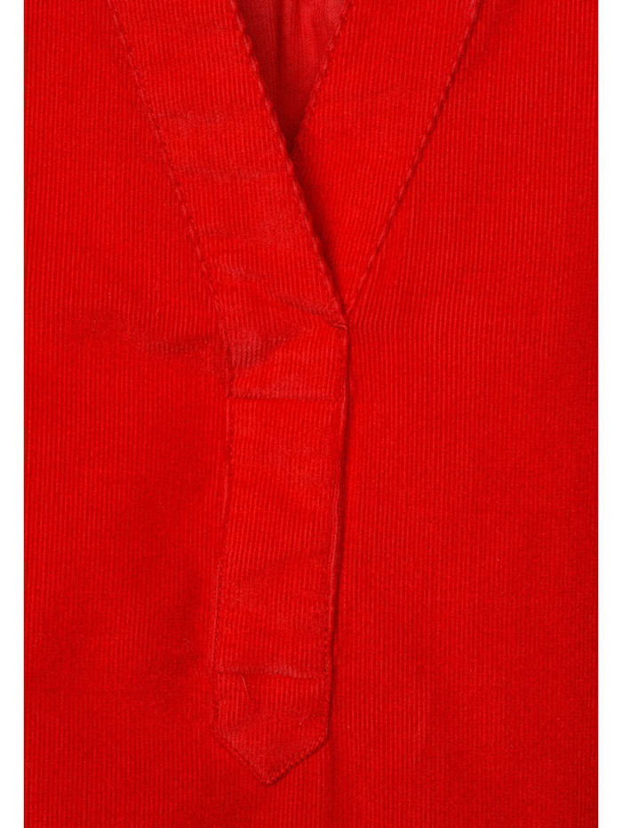 Bluse in Cord-Optik