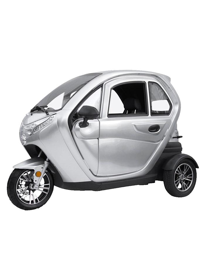 """Didi Thurau Edition DIDI THURAU EDITION Dreirad-Elektro-Kabinenroller """"Lizzy"""" mit Vorort-Einweisung - 25 km/h, silber"""