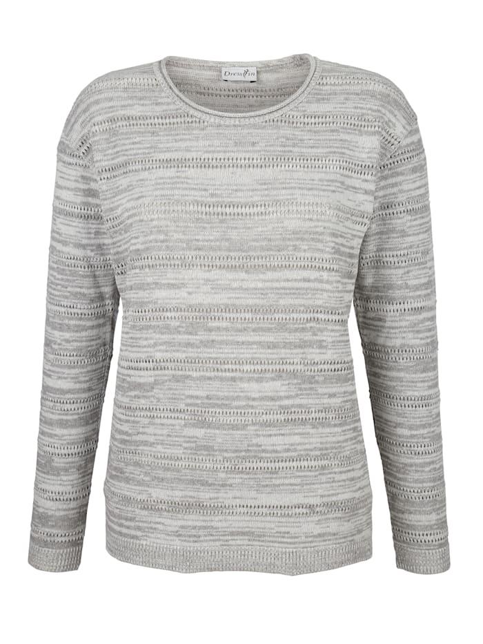 Pullover im modischen Ajourstrick