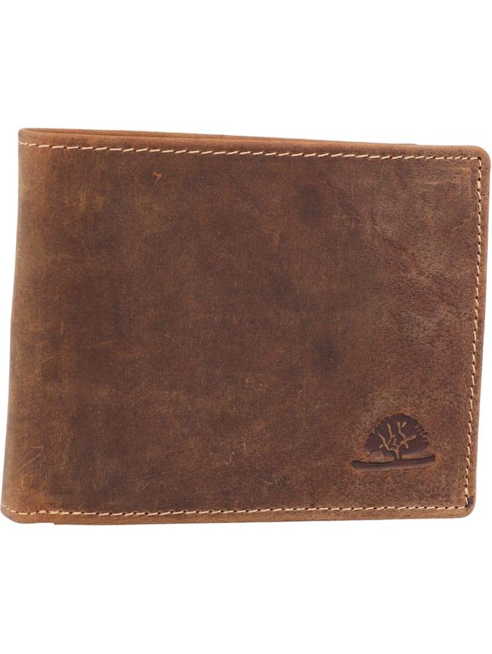 Geldbörse Leder 12 cm