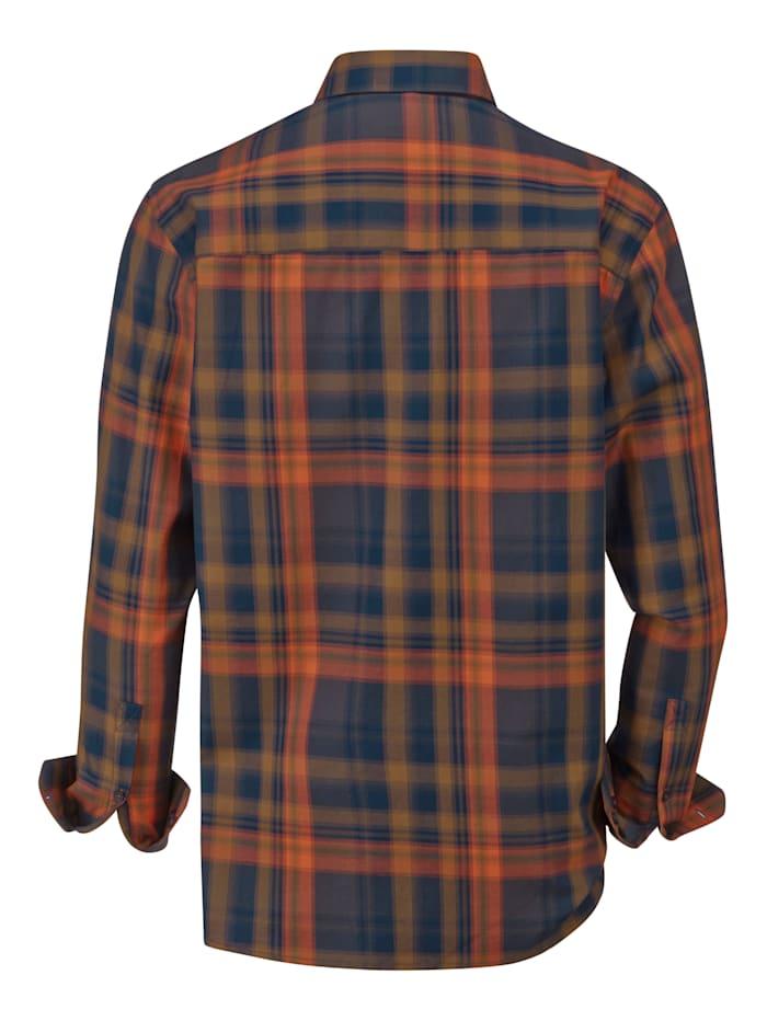 Overhemd van fijne twill