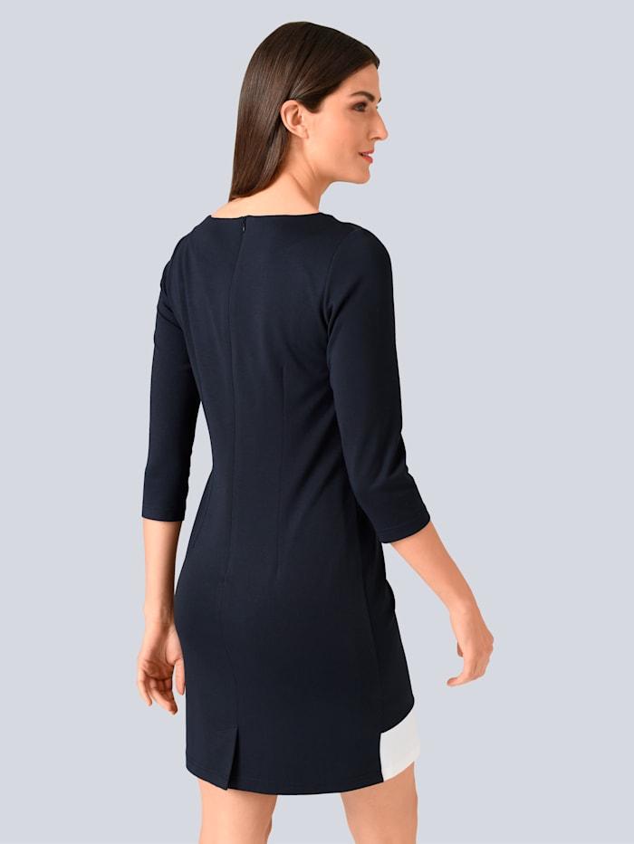 Kleid im Colour Blocking